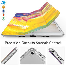 "Colorful Pattern Smart PU Leather Cover Case Stand For New iPad Pro 10.5"" 2017"