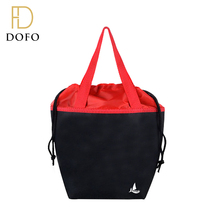 Promotional high quality portable waterproof food drawstring cooler bag