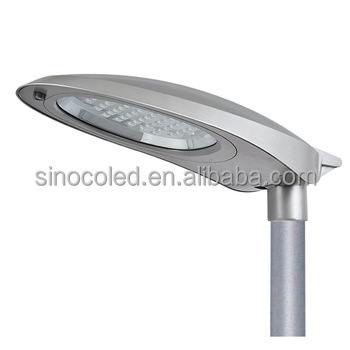 Public lighting CE RoHS ETL listed IP66 IK08 cobra head street light 130lm/W asymmetric light distribution original factory