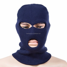 Acrylic knit one hole or three holes Balaclava Face mask with Thinsulate lined for Working or Cycling Sports Outdoor