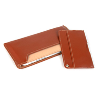 universal leather mobile phone wallet case for 4.7 inch to 6 inch cell phone