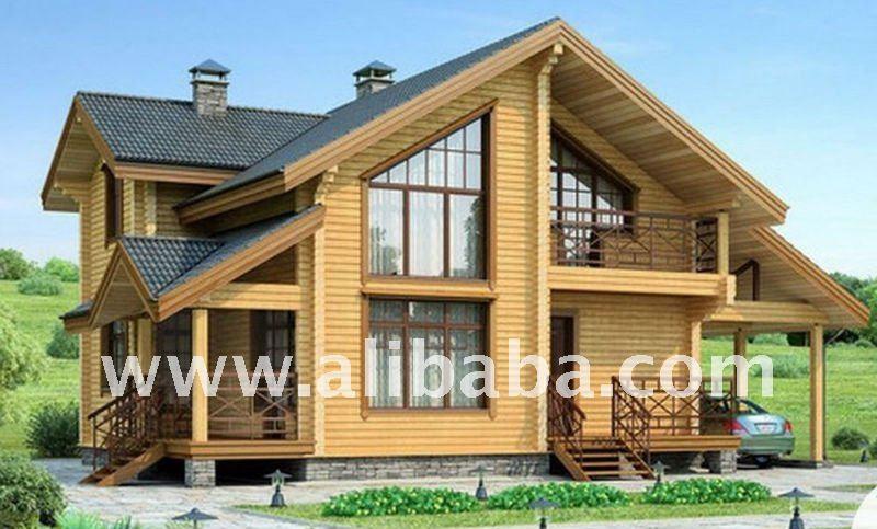 Casa madera de viga laminada encolada otros inmobiliarias - Casas de madera laminada ...