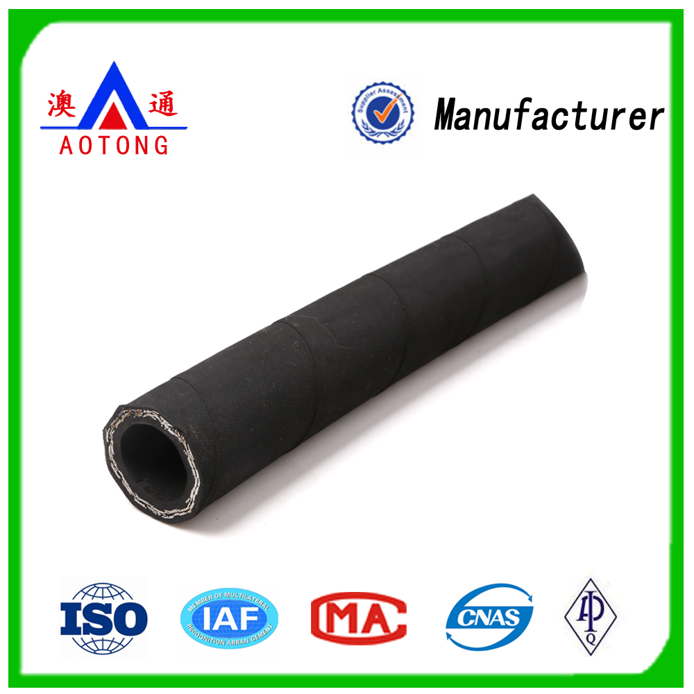 High Pressure Steel Wire Braided Rubber Hose/Hydraulic Rubber Hose Competitive Price
