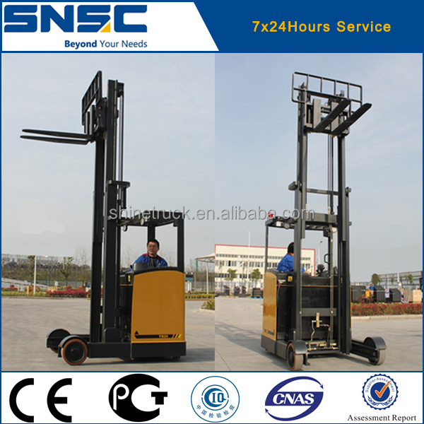 Logistic Reach Truck Forklift with 8m Lifting Mast