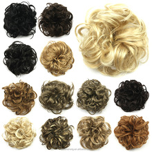 BSD hot selling afro fake synthetic hair bun for black women