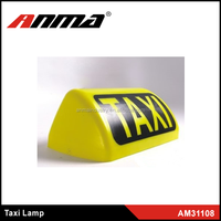 TAXI Light Indicator Cab Lamp Yellow 12V