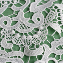 Professional new arrival fancy designs lace application for wedding dresses