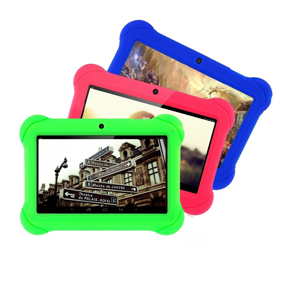 New design 7 inch <strong>Tablet</strong> for Kids Children Gift Game Apps Android 4.4 1GB RAM 16GB ROM WiFi Quad Core <strong>Tablet</strong>