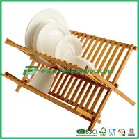 Kitchen Unique Bamboo Dish Rack