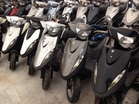Taiwan USED SCOOTERS MOTORCYCLES 49cc~150cc