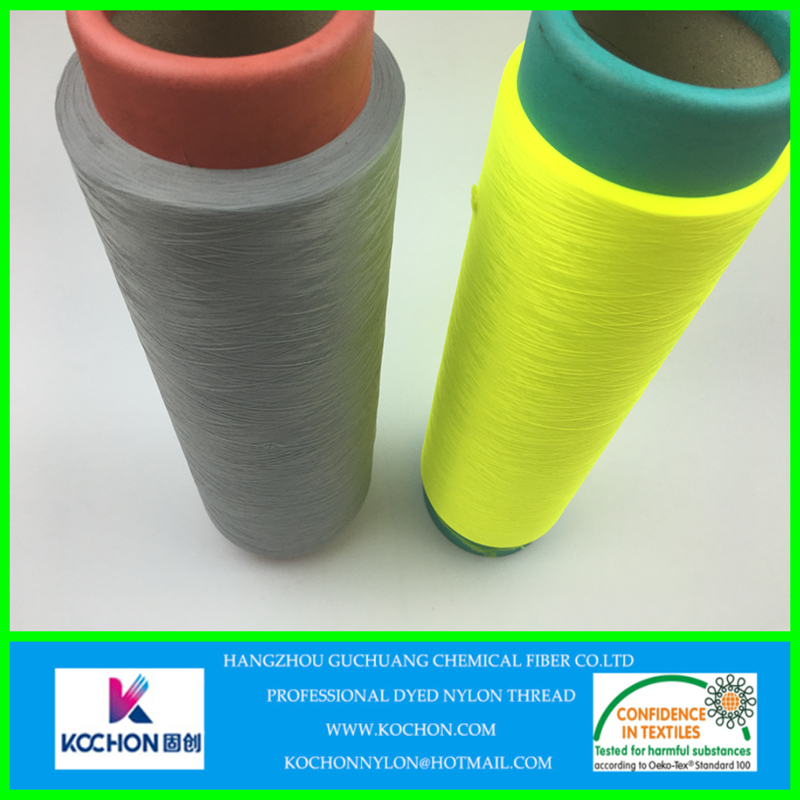 Semi-dull anti-plling 100 nylon yarn for baby knitting yarns 70d 24f