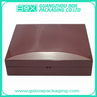 shining wooden magnetic gift box