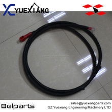 Excavator spare parts electric parts starting motor line A810201058130 starter motor power line for SY200C1.5.9