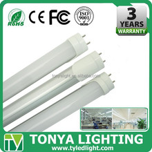 office lights 2015 LED tube CE ROHS t8 fluorescent tube fittings