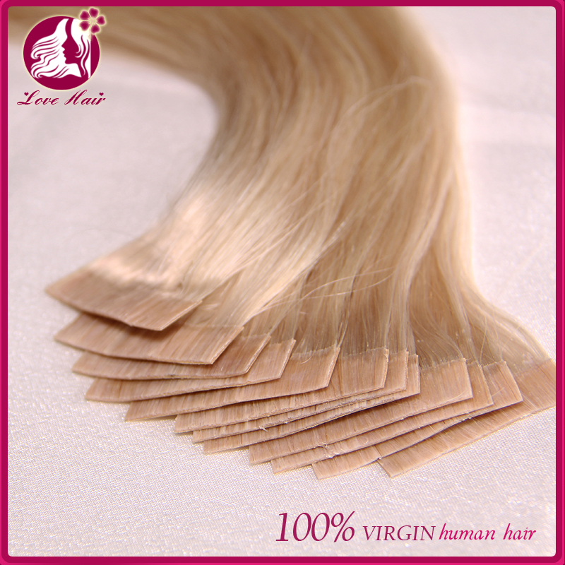 Highest Quality Human Hair All Colors Skin Weft 8-30inch Indian Tape Hair Extension