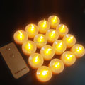 Wholse Yellow Flame Remote LED Candle