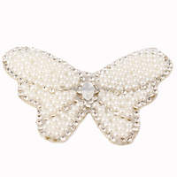 Promotion bridal high-heel metal shoes accessories white crystal garment clips for Fashion wedding