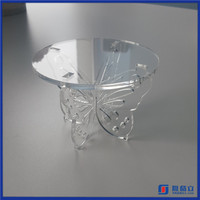 Hot Sell Low Price Acrylic Wedding Cupcake Display Stand / Acrylic Display for Cup Cake Stand