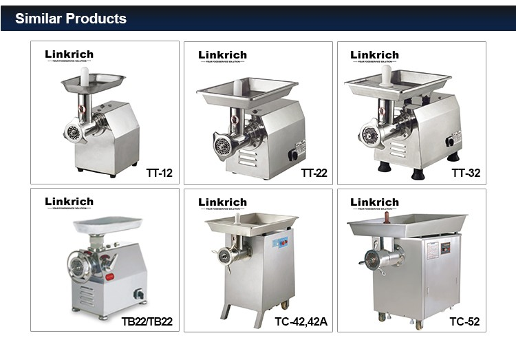 Professional commercial electric industrial meat mincer grinder machine