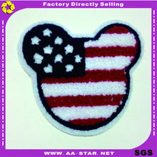 Custom Made Personalized Cheap Cartoon Embroidery Chenille Patches
