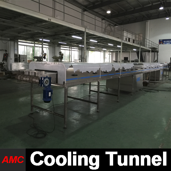 Specifically Designs Quick Changeover wine dispenser machine Cooling Tunnel Machine For Production Line