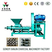 coal rod coconut shell charcoal powder briquette extruder machine