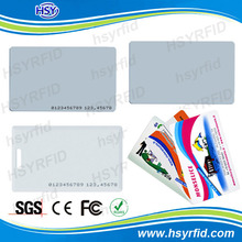 professional rfid card maker ID employee card sample for testing
