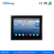 Aluminun alloy 12.1inch15inch17inch android industrial panel pc with IP65 Waterproof and dust proof