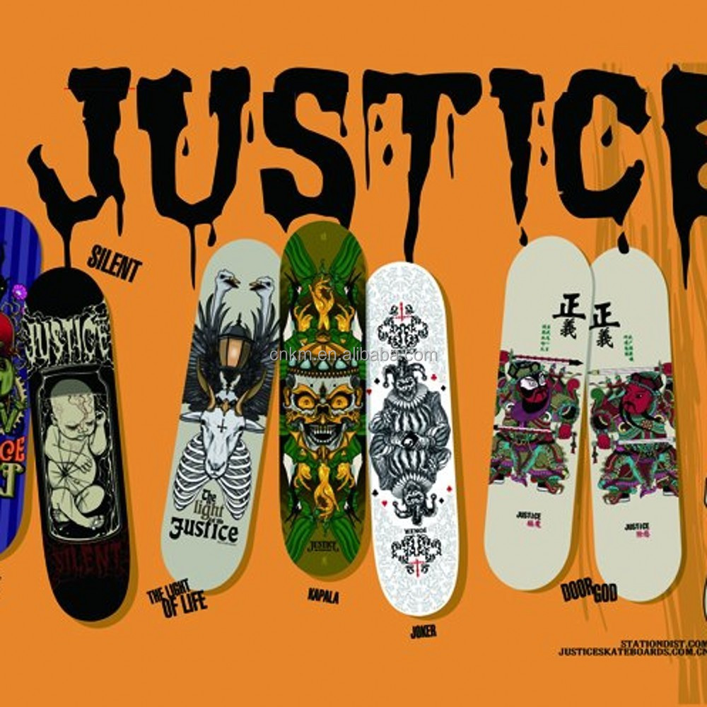 2015 New Heat Transfer Printing Film For Skateboards