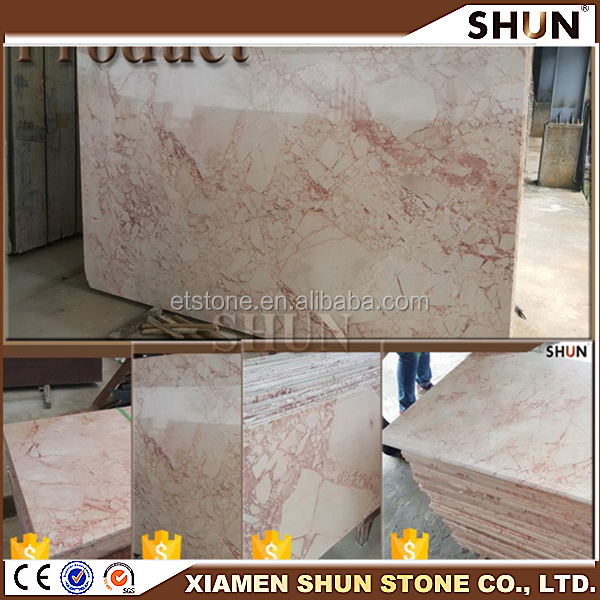 Pink marble from portugal, Cheap Marble Tile White Rose Marble Tile From Our Own Quarry,Luxury pink onyx type marble