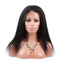 Natural Looking Curly Hair Wigs Cheap Short Bob Virgin brazilian hair wig