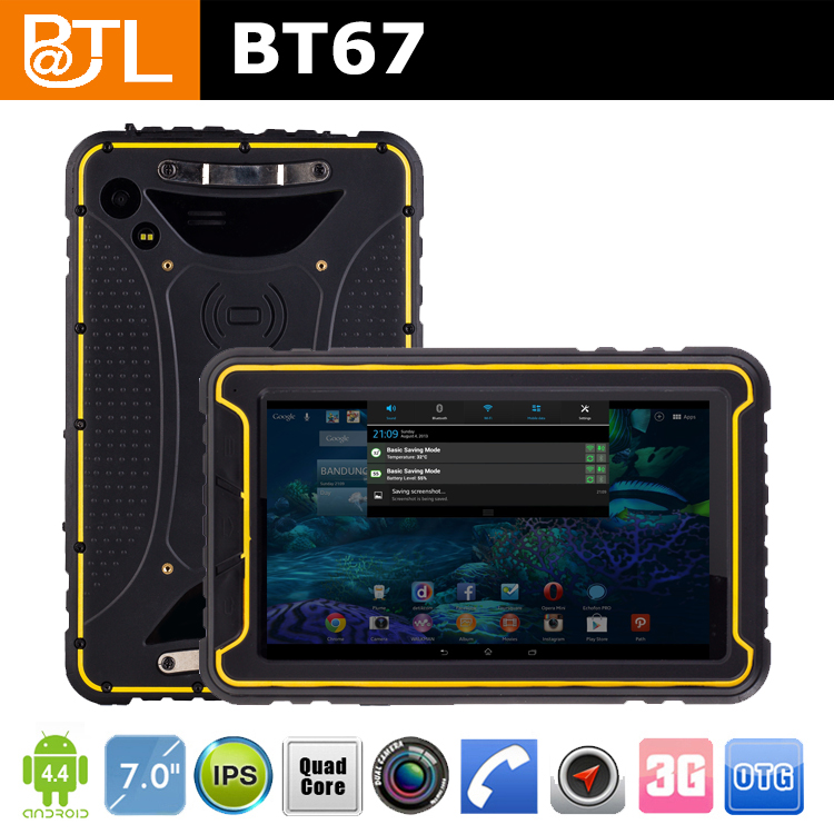 BATL BT67 7 inch nfc military grade cell tablet with gorilla screen
