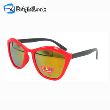 Brightlook TPE frame No MOQ ce child cat 3 uv400 sunglasses