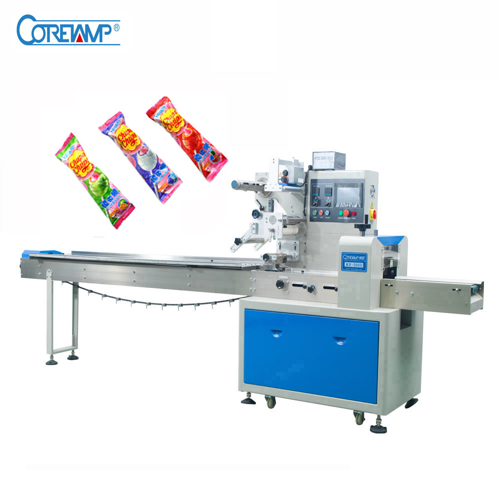 Flow Automatic Candy Stick Lollipop Packing Machine