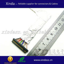 lvds specification techwood lvds cable 0.5mm pitch ffc cable assembly
