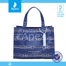 2014 hot sale reusable polyester shopping bag