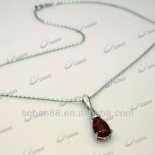 925 sterling silver jewelry with agate stone pendant necklace