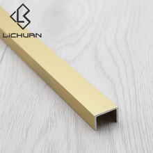 Durable L Shape Aluminum Material Ceramic Tile Trim Profile