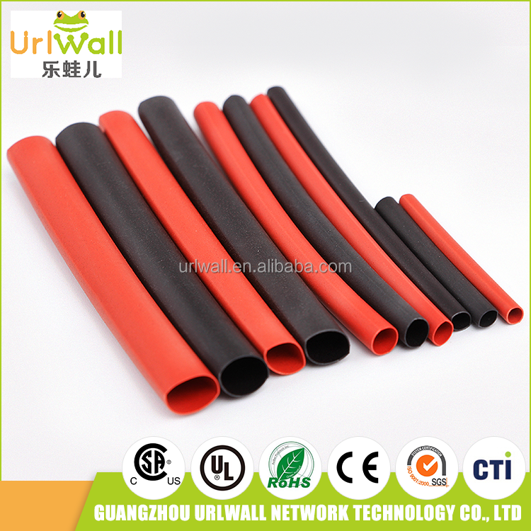 high quality waterproof red black heat shrink tube for automotive fuel line