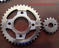 motorcycle sprocket ,press sprocket fine blaning sprocke , CD70/CD125 pakistan