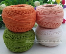 Hot Sale DIY Colorful Cotton Thread for cross stitch,thread for eyebrow threading