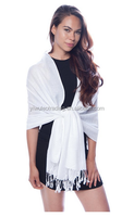 Women's Fringed Shawl Wrap Scarf Fashion Pashmina