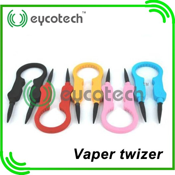 new products 2016 most popular vaper twizer/ceramic vape tool baal v2 rda factory wholesale with black tweezer