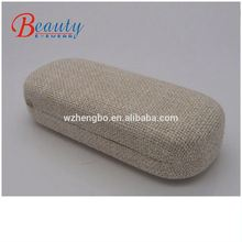 luxury a glasses case/felt business case/high quality sunglass cases custom print