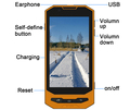 4G LTE Quad-Core rugged phone with NFC Reader