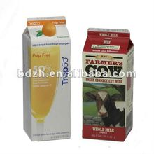 multilayer custom printed Combibloc milk carton material/combibloc paper packaging