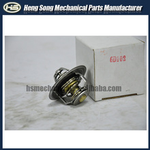 Engine spare parts Thermostat S6D102 Thermostat for excavator Chepest Price China Suppier 4BD1 4D84 6BD1 S6D95 S6D102