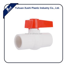 new design handle thread socket fusion weld plastic Ball valve