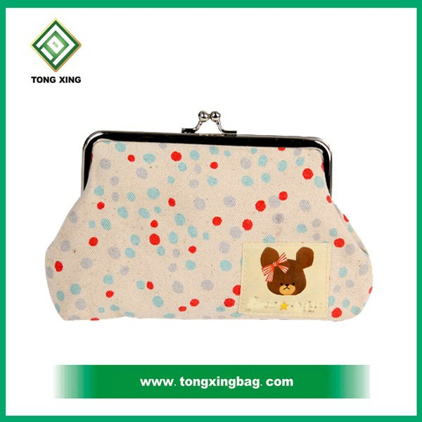 ladies durable canvas cosmetic bag