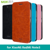 MOFi Original Mobile Phone Leather Case for Xiaomi Redmi Note 3 Pro Prime,Back Stand case for Xiami Xiomi RedMi Note3 Flip Cover